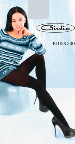 Теплые колготы Блюз 200 Джулия