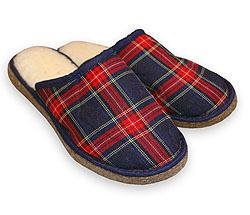 Тапочки домашние овечие Шотландские