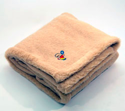 Одеяло детское из овечей шерсти