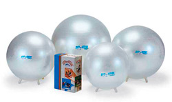 Резиновый мяч с ножками Сит-Н-Жим 75 см