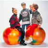 Фитнес-Мяч Бодиболл 55 см разноцветный (Италия)