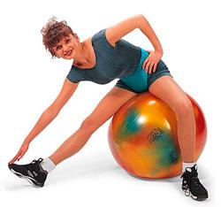 Фитболл-мяч Bodyball Gymnic разноцветный 65 см