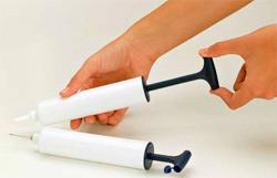 Ручной насос для ортопедического шара Джимник