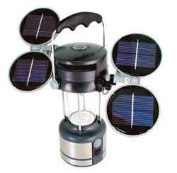 Кемпинговый фонарь на солнечных батареях
