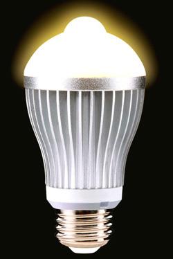 Диодная лампа с датчиком движения
