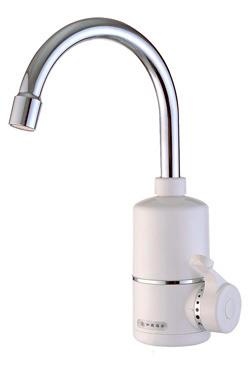 Кран с электрическим водонагревателем