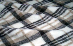 Плед шерстяной односпальный Оксфорд 140х200