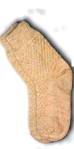 Носки из шерсти альпака