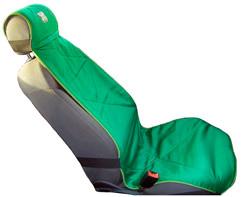 Греющая накидка на водительское кресло из шерсти верблюдов