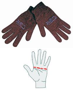 Перчатки из натуральной шерсти верблюда и альпака