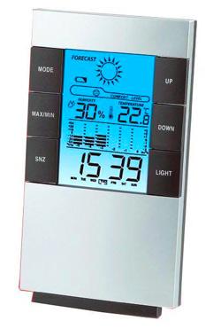Цифровая метеостанция с цветным дисплеем