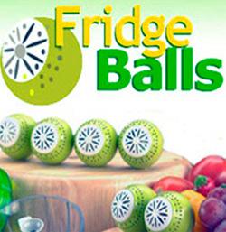 Шарики для поглощения запахов в холодильнике Фридж-Болс