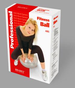 Резиновый мяч с системой антиразрыв Bradex 75 см