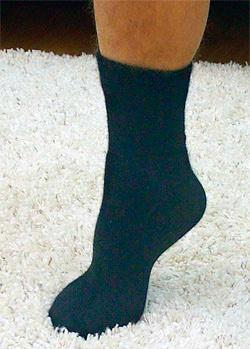 Шерстяные носки из пуха ангоры и шерсти тонкие