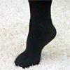 Теплые носки из пуха ангоры и шерсти плотные