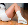 Женские согревающие шорты из ангоры и хлопка