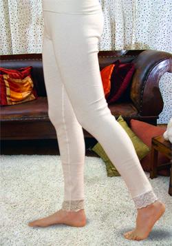 Нательные панталоны согревающие женские из ангоры и хлопка