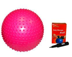 Массажный фитбол GB02 65 см в комплекте с насосом