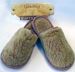 Уютные тапочки из альпака