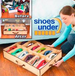 Обувной органайзер (12 пар)