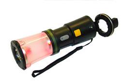 Фонарик светодиодный с ручной подзарядкой Робинзон