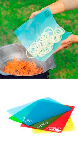 Гибкие кухонные доски (набор Chopping Mat Set)