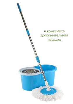 Чудо швабра-вертушка (с металлическим барабаном)