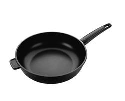 Глубокая литая сковорода Премиум 28 см