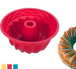 Форма из силикона для кекса высокая 22 см