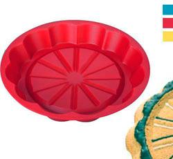 Кухонная силиконовая форма для тортика 22 см