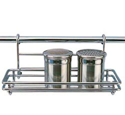 Кухонная полка 26х10 см на рейлинг