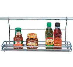 Полка кухонная на рейлинг 45х10 см