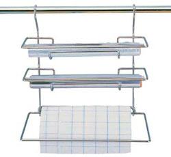 Держатель для фольги и бумажных полотенец для рейлинга 33 см